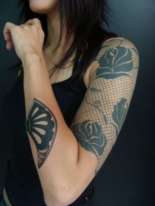 Lace tatoos