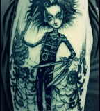 fairytale tattoo edward scissorhands