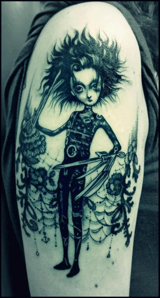 Fairytale Tattoo Edward Scissorhands Tattoomagz Tattoo