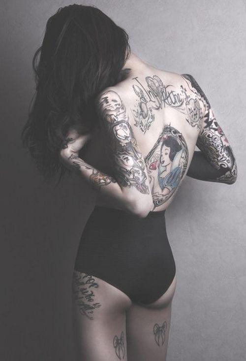 fairytale tattoo snow white