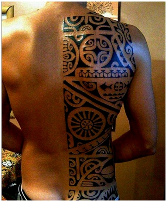 1fa5c28a0 half back tattoo maori - | TattooMagz › Tattoo Designs / Ink Works ...