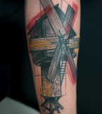 peter aurisch tattoo windmill