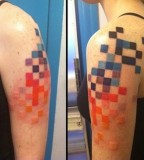 pixel tattoo by idexa stern