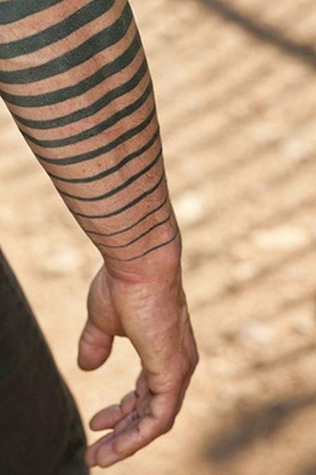 stripe sleeve by idexa stern