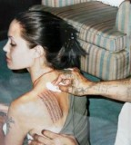 tattoo healing process angelina jolie in thailand