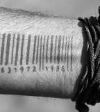 wrist tattoo barcode