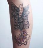body tattoo by diana katsko
