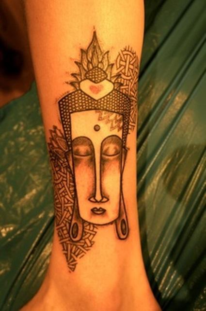 buddha tattoo by noon