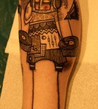 dj tattoo by noon