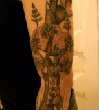 landscape tattoo by noon