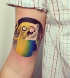sasha unisex tattoo adventure time