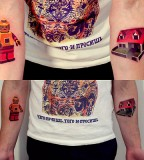 sasha unisex tattoo lego
