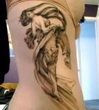 tattoo dance inspired by alphonse mucha