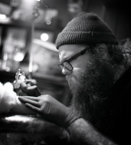 tattooing process by jean philippe burton