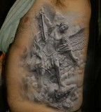 Angels 3D tattoo