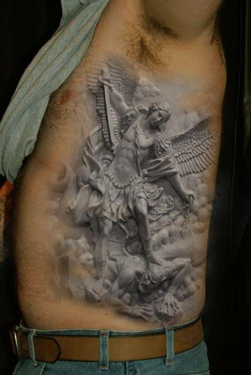 Angels 3D tattoo