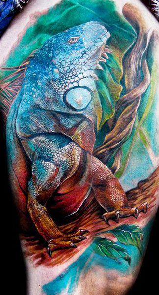 Animal tattoo by Miroslav Pridal