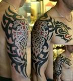 Arm tattoo by Dimon Taturin
