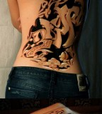 Awesome 3D tattoo