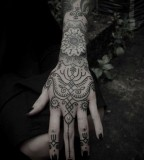 Awesome Mandala style tattoos