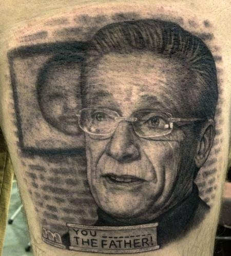 Awesome famous people tattoo