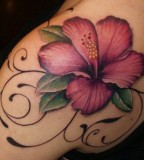 Beautiful flowers tatoo design
