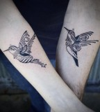 Birs tattoo by David Hale