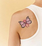 Butterfly tatto for cancer