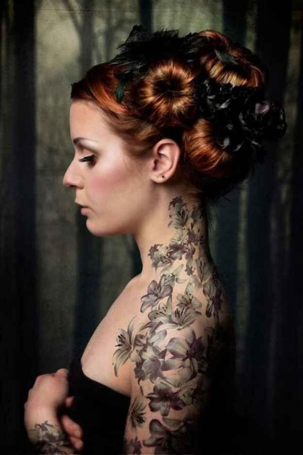 Arm Tattoo Girls Tumblr Tattoo on Girl Arms