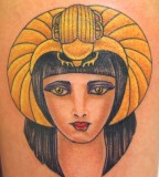 Colorful tattoos by Andy Perez   egypt