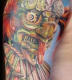 Crazy tattoo by Miroslav Pridal