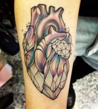 Crystal-heart-tattoo