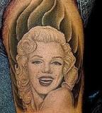 Cute Marilyn Monroe tattoo