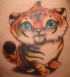 Cute animals tattoo