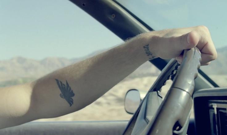 Cute eagle tattoo