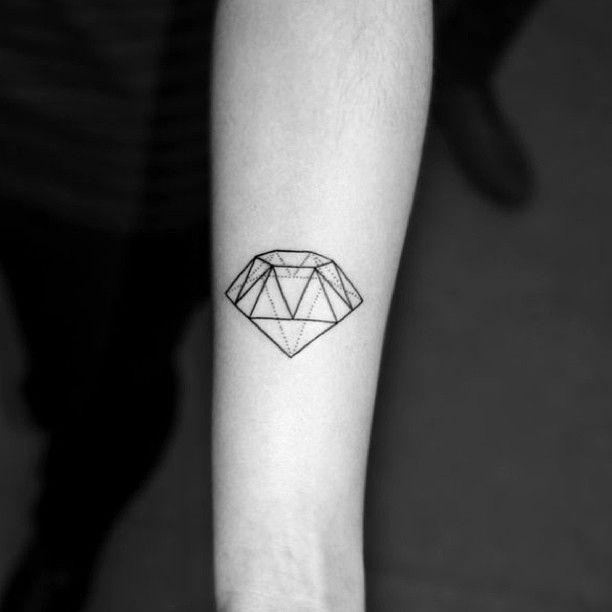Diamond tattoo by Chaim Machlev
