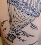 East river tattoo by Duke Riley