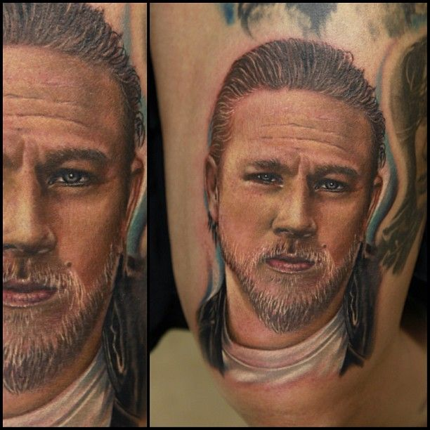 Famous people tattoo by Rich Pineda