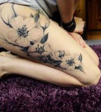 Flowers awesome tattoo