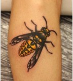 Fly tattoo