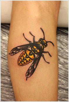 Fly tattoo