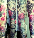 Gorgeous tattoo on arm