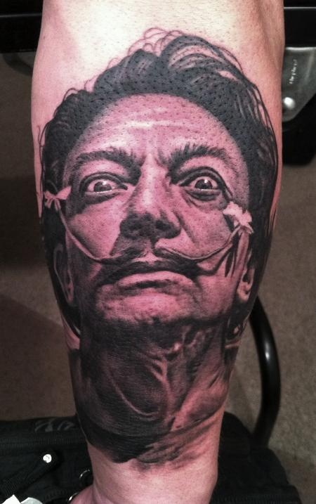 Great tattoo by Bob Tyrell