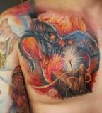 Great tattoo by Miroslav Pridal