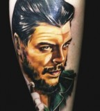 Human tattoo by Dimon Taturin