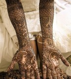 Indian bride tattoos