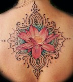 Indian flowers tatoo design