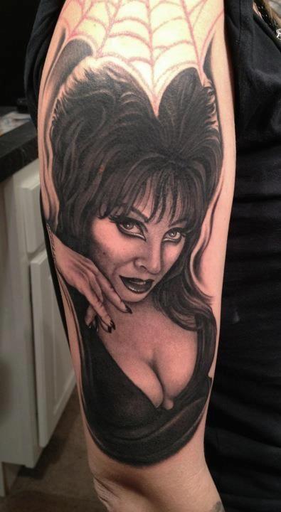 Intenze tattoo by Bob Tyrell