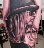 Kid Rock tattoo by Bob Tyrell