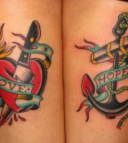 Love and hope tattoo